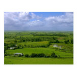 Ireland Fields Sky Clouds Post Cards