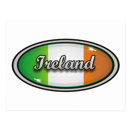 Ireland flag 1 postcard