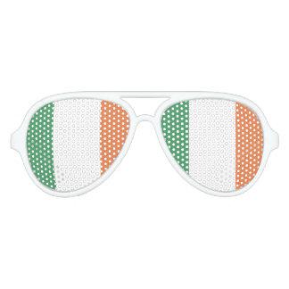 Ireland Flag Aviator Sunglasses