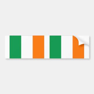 Ireland flag bumper sticker