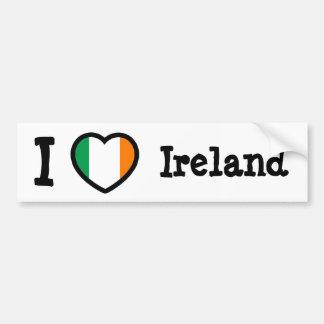Ireland Flag Car Bumper Sticker