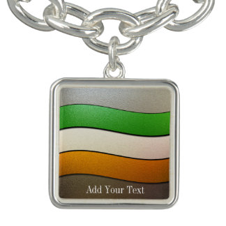 Ireland Flag Colors-Chrome by Shirley Taylor