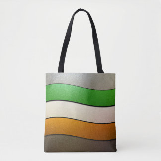 Ireland Flag Colors-Chrome Tote Bag