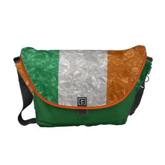 Ireland Flag - Crinkled Commuter Bag