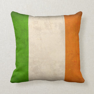 Ireland Flag Distressed Pillow - Irish