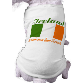 Ireland Flag Dog Shirt