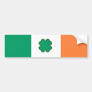 Ireland flag for Irish fans Bumper Sticker