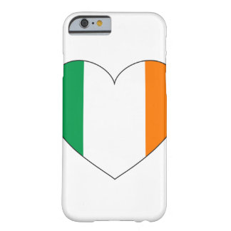 Ireland Flag Heart Barely There iPhone 6 Case