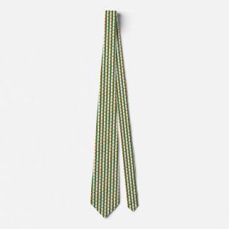 Ireland Flag Honeycomb Tie