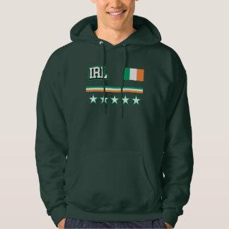 Ireland Flag Hoodie