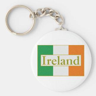 Ireland Flag Key Ring