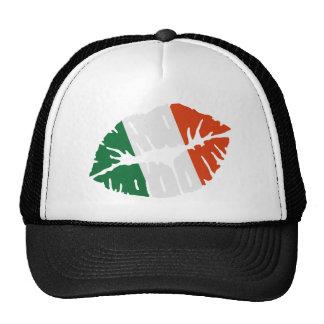 Ireland flag kiss hat