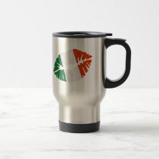 Ireland flag kiss mugs