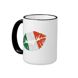 Ireland flag kiss mug