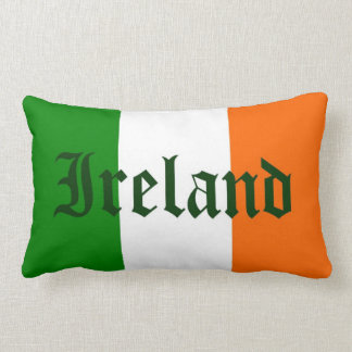 Ireland Flag Lumbar Cushion
