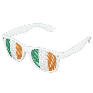 Ireland Flag Retro Sunglasses