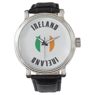 Ireland Flag Wheel Watch
