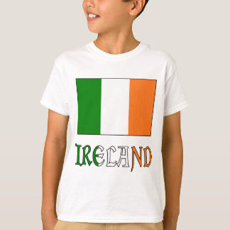 Ireland Flag & Word T-Shirt