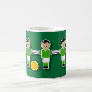 Ireland foossball taza de café
