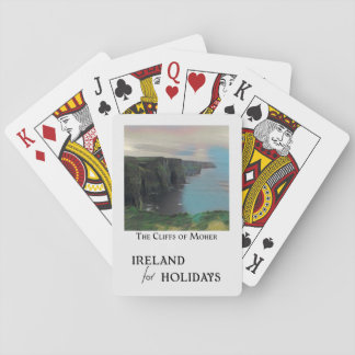 Ireland for Holidays - The Cliffs of Moher Playing Cards