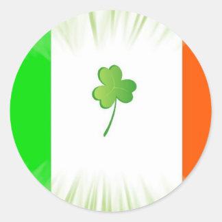 Ireland Forever Classic Round Sticker