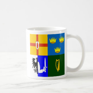 Ireland Four provinces Coffee Mug