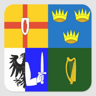 Ireland Four provinces Stickers