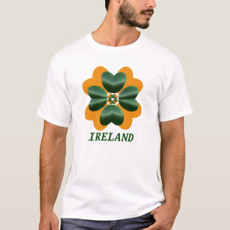 Ireland Green and Orange T-Shirt