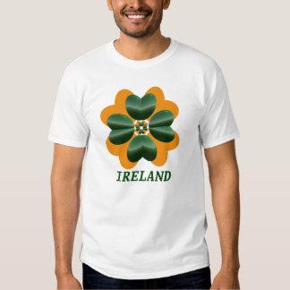 Ireland Green and Orange Tees