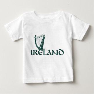 Ireland Harp Design, Irish Harp Baby T-Shirt