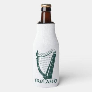 Ireland Harp Design, Irish Harp Bottle Cooler