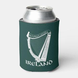 Ireland Harp Design, Irish Harp Can Cooler