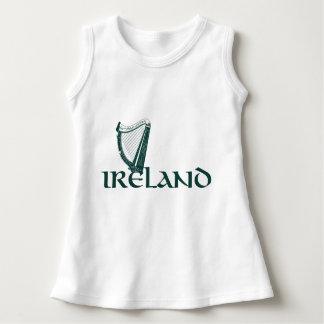 Ireland Harp Design, Irish Harp Dress