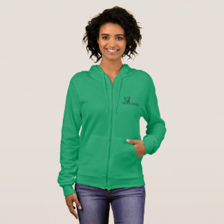 Ireland Harp Design, Irish Harp Hoodie