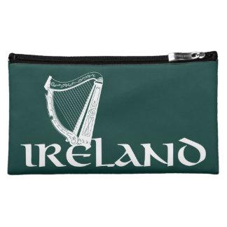Ireland Harp Design, Irish Harp Makeup Bag