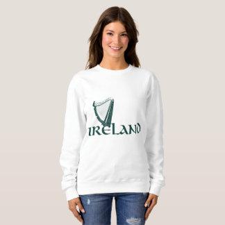 Ireland Harp Design, Irish Harp Sweatshirt