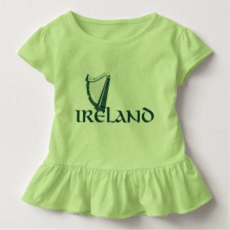 Ireland Harp Design, Irish Harp Toddler T-Shirt