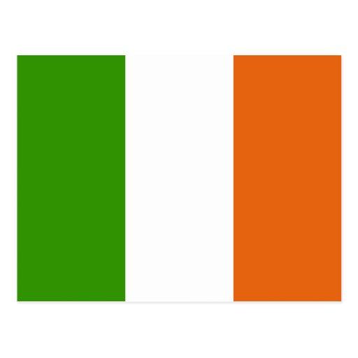 Ireland High quality Flag Postcard