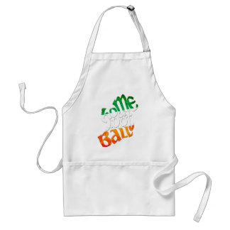 Ireland Home of Peil Ghaelach Adult Apron