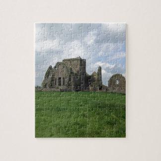 Ireland Hore Abbey Irish Ruins Rock of Cashel Jigsaw Puzzle