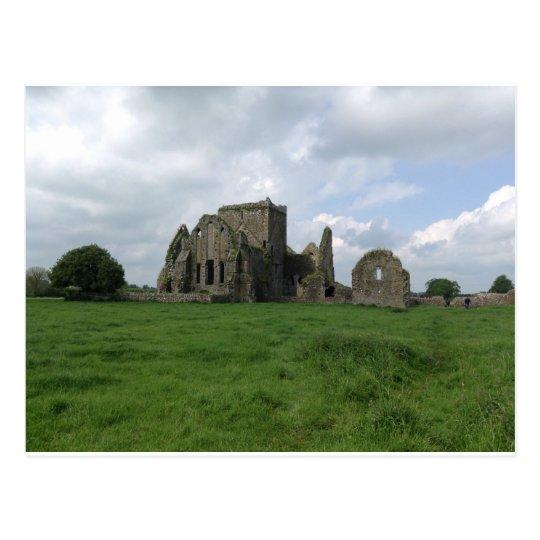 Ireland Hore Abbey Irish Ruins Rock of Cashel Postcard