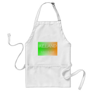 IRELAND IN MY HEART apron