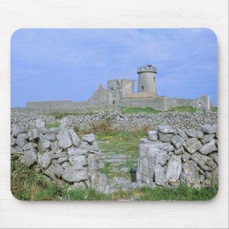 Ireland, Inishmore, Aran Island, Dun Aengus Fort Mouse Mat