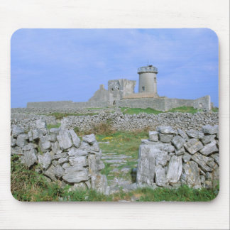 Ireland, Inishmore, Aran Island, Dun Aengus Fort Mouse Pad