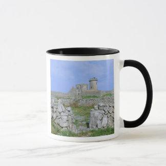 Ireland, Inishmore, Aran Island, Dun Aengus Fort Mug