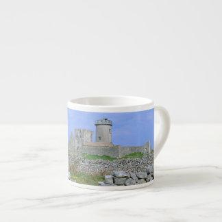 Ireland, Inishmore, Aran Island, Dun Aengus Fort 6 Oz Ceramic Espresso Cup