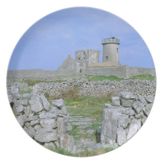 Ireland, Inishmore, Aran Island, Dun Aengus Fort Plate