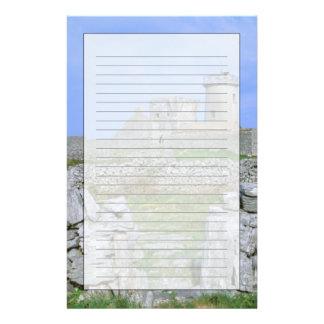 Ireland, Inishmore, Aran Island, Dun Aengus Fort Stationery Design