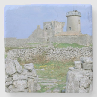 Ireland, Inishmore, Aran Island, Dun Aengus Fort Stone Coaster