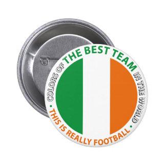 Ireland Ireland Art Shield 6 Cm Round Badge